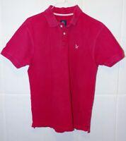 Crew Clothing, men's size M, dark pink, Collared polo shirt,