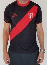 NEW PERU SOCCER JERSEY WORLD CUP BLACK FOR MEN