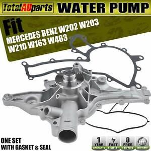 Water Pump for Mercedes Benz W163 W202 S202 A208 C209 C240 C280 CLK320 1996-2019