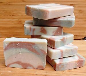 1kg-6kg luxury handmade soap. Natural.Tea tree oil and bentonite clay for acne.
