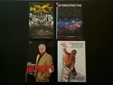 WWE Books; NXT, Wrestlemania,  Eric Bischoff, and Shawn Michaels