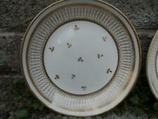 Antique English porcelain dishes - Crown Derby - pair of gilt dishes early 19th