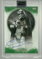 Topps Star Wars Stellar Signature Gwendoline Christie Phasma Auto Autograph / 20