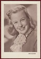 June Allyson actress rare lobby card 1950s film movie Holiwood