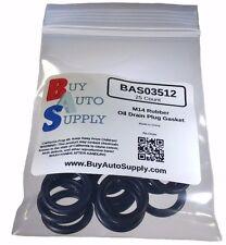 25x M14 Rubber Oil Drain Plug Gasket Washer Fits Ford F75Z-6734AA Dorman 097-146