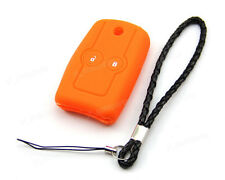 Orange Silicone Case Cover For Honda Accord Civic CR-V HRV Jazz Remote Flip Key