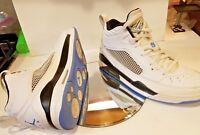 Nike Air Jordan Flight 9 High tops Navy Blue White Retro Men's Size 12