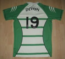 Match Worn Devon Rugby Shirt 4XL