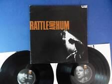 U2   RATTLE & HUM island 88 UK orig double Lp EX