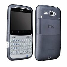 AGF Soft Shell for HTC Status / ChaCha Gel Skin TPU Case - Traslucent Smoke Gray