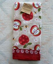 Apples Terry Towel Kay Dee An Apple A Day Pattern