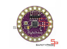 Placa Lilypad Atmega 328 compatible Arduino ropa textil wearable SP