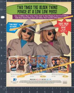 The OLSEN TWINS__Orig. 1998 Trade Print AD / ADVERT / promo__MARY-KATE & ASHLEY