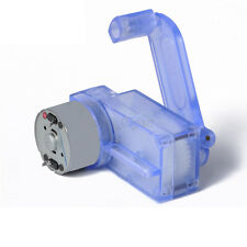 6V Hand Crank Dynamo Generator DIY Mechanical Motor Reduction Gear Box
