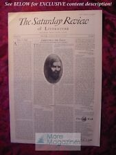 SATURDAY REVIEW August 27 1932 D. H. Lawrence Colette Gladys Graham Arthur Ruhl