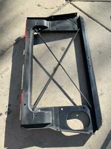 """1963 Only"""" Corvette ORIGINAL RADIATOR CORE SUPPORT Fuel injection Rochester FI"""