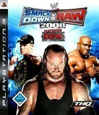 Juego-Wwe Smackdown PS3 Vs. Raw 2008: con ECW [Estándar] en/ger en Caja