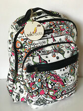 NEW! SAKROOTS ARTIST CIRCLE OPTIC SONG BIRD ZIP AROUND BACKPACK BAG $89 SALE