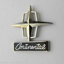 LINCOLN CONTINENTAL LOGO AUTOMOBILE CAR EMBLEM AUTO LAPEL PIN BADGE 1 INCH