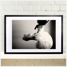 Large Modern Wall Art. Plexiglass cover with black wooden frame. Special Offer,