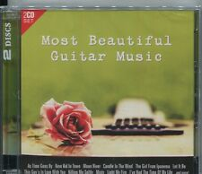 MOST BEAUTIFUL GUITAR MUSIC - VARIOUS ARTISTS on 2 CD's