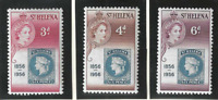 St. Helena Stamps Scott #153 To 155, Mint Never Hinged