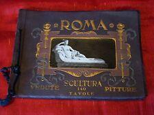 Circa 1910 - Roma - Vedute - Scultura - Pitture - 140 Tavole - Rome Photographs