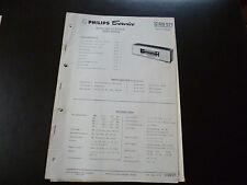 Original Service Manual Philips 12RB571