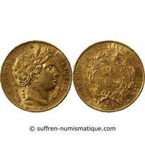 Pièces de monnaie françaises de 20 francs 20 francs or à 40 francs sur Cérès