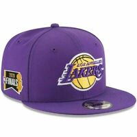 Los Angeles Lakers New Era 2020 NBA Finals Sidepatch 9FIFTY Snapback Hat NWT
