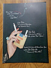 1950 Old Gold Cigarette Ad  Nearing 200 Years of Tobacco Know-How
