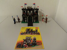 ( Tb ) Legoland 6085 Black Monarch`S Castle Castello Cavaliere con Ba 100%
