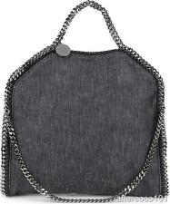 Stella McCartney Falabella denim tote shoulder bag clutch - 3 way convertible