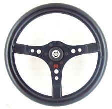 Genuine Raid 1 black leather 360mm steering wheel, Superb.Volvo 142 144 145  17A