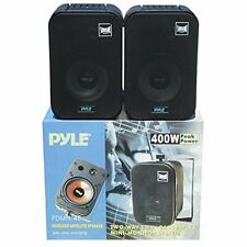 PAIR OF SPEAKERS BLACK PYLE PDMN48 FROM 800 WATTS MAX FOR INNER BAR HOTEL