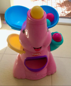 Playskool poppin Elephant Air Powered, or Fisher-Price music cot bath