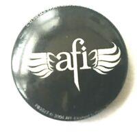 AFI - 25mm Original 2004 Button Badge Official Safety Fastener Emo Hardore Punk