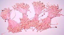 4 Bundles Vintage Flower Stamens  Millinery,Floral Crafts, Dolls, Other Crafts