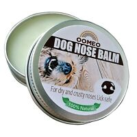 Dry Crusty Dog Nose Balm Snout Cream Butter Soothing Hemp Calendula OOMEO 30ml