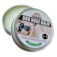 Dry Crusty Dog Nose Balm Snout Cream Butter Soothing Hemp Calendula OOMEO 30ml