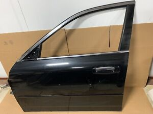 2003 2004 2005 2006 INFINITI G35 SEDAN FRONT LEFT DRIVER DOOR SHELL BLACK OEM