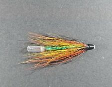 Green Bodied Willie Gunn tube fly x3