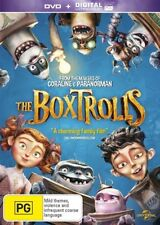 The Boxtrolls (DVD, 2015) Brand New & Sealed