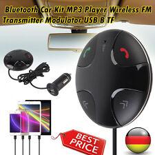 Handsfree Wireless Bluetooth Receiver Speakerphone Car FM Transmitter Mp3 Player