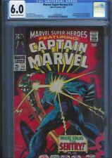 CGC 6.0 MARVEL SUPER-HEROES #13 CR/OW PAGES 1ST APP CAROL DANVERS CAPTAIN MARVEL