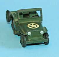 DINKY Meccano England 1946 UNIVERSAL Military JEEP #25Y United States Army