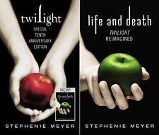 Twilight Saga: Twilight / Life and Death by Stephenie Meyer (2015, Hardcover, A…