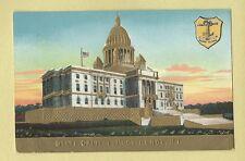 Vintage Postcard State Capital, Providence, Rhode Island, Embossed.