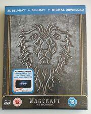 Warcraft The Beginning | 3D 2D Limited Blu-ray Steelbook Edition NEU NEW OVP