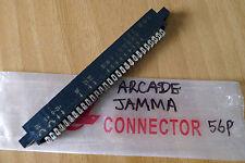 Black Brand new Arcade Video Game Jamma 28P x 2 56 Pin Connector